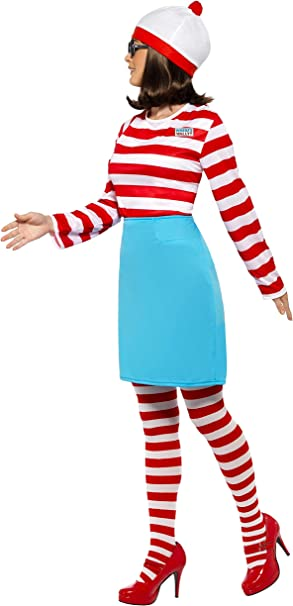 Smiffys - Disfraz de Wally para mujer, talla UK 12-14 (39504M ...