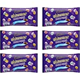 Cadbury Shimmer Mini Eggs Milk Chocolate Easter Candy With A Crisp Shimmer Sugar Shell - Bulk Pack of 6 Bags - 9 oz Per…