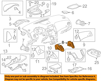 95919071 New Genuine GM Outlet Part#