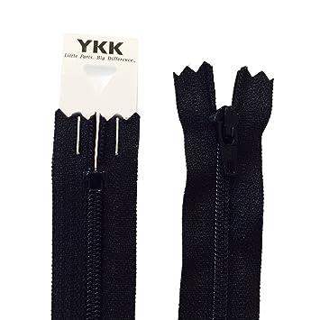 55,88 cm/56 cm YKK nailon vestido y falda cremallera: negro ...