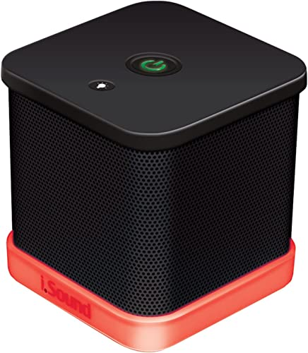 iSound iGlowSound Cube Wired Speaker black