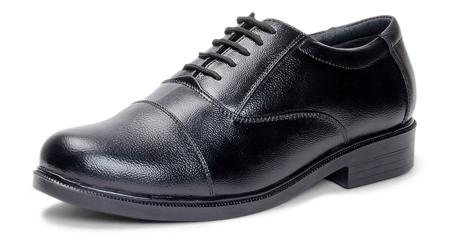 7cc7625918e Bacca Bucci Men s Leather Shoes - Black  Buy Online at Low Prices in India  - Amazon.in