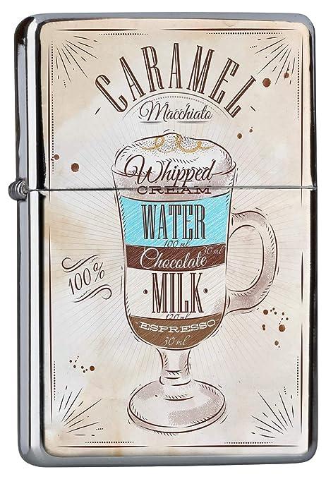 Encendedor Cromo De Gasolina Recargable Cocina Receta dulce de leche