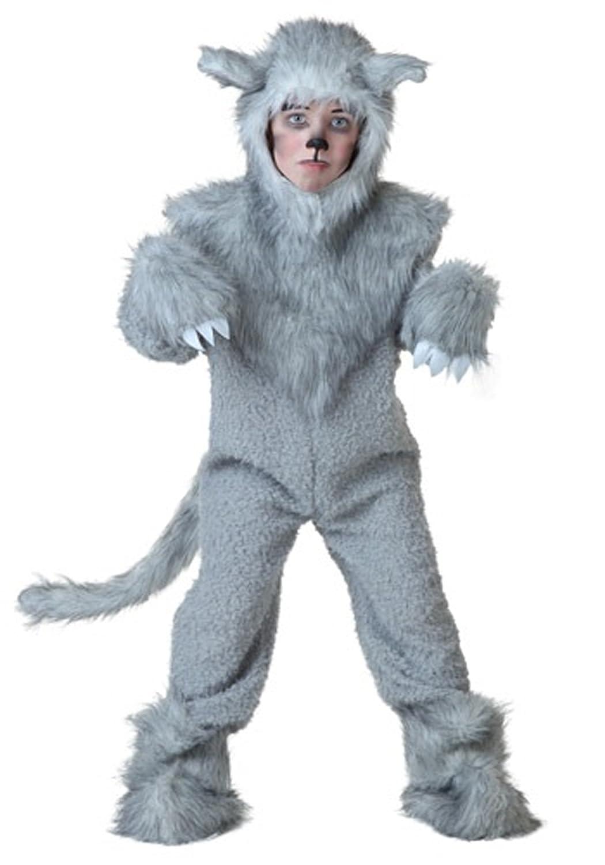 Kinder Wolf Kostüm - XL