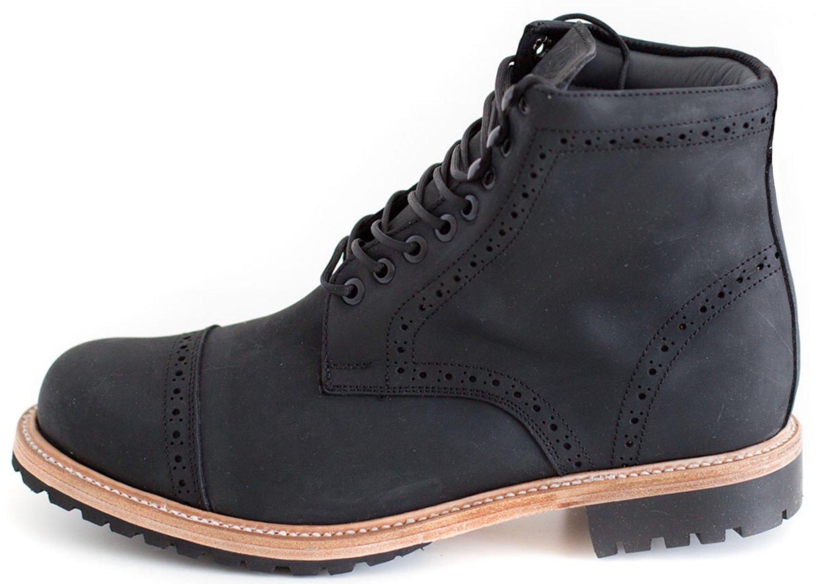 Wilcox Boots | Classic Style + Premium Comfort Fairfax Matte Black-11
