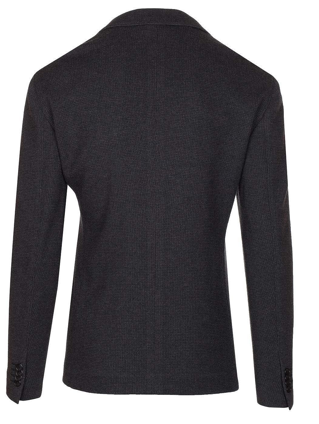 658a174f GIORGIO ARMANI Men's Dark Gray 100% Wool Upton Blazer Sport Coat ...