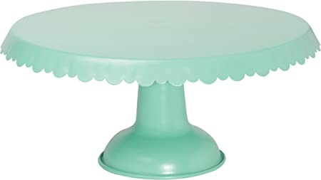 Now Designs Tin Cake Stand, Aqua - 5004001aa