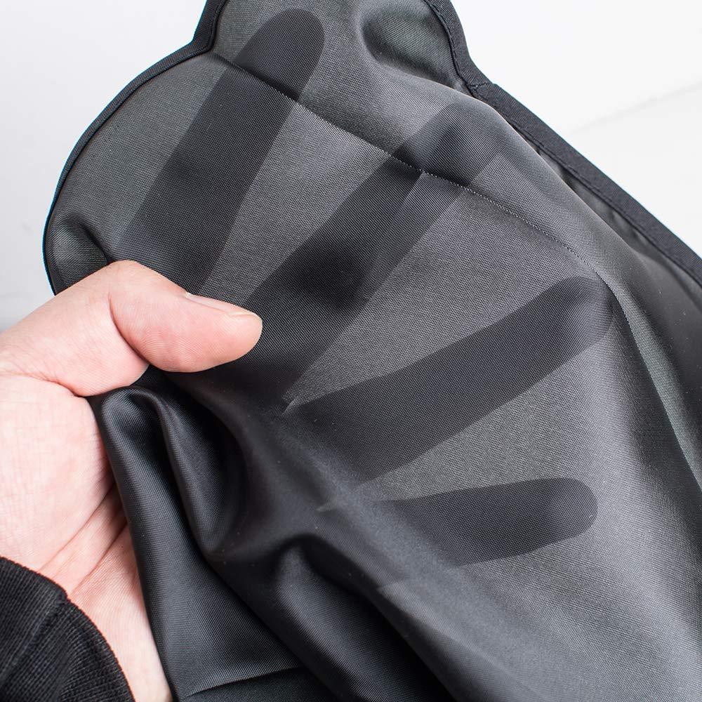 Shaving bib, Balck,barber cloak, repair beard shape cloth Big Sale from USA STOCK