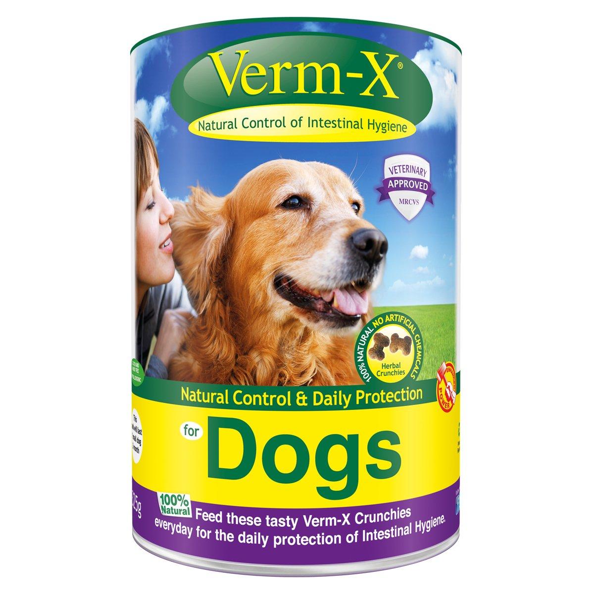 Verm-X Herbal croquettes pour chien