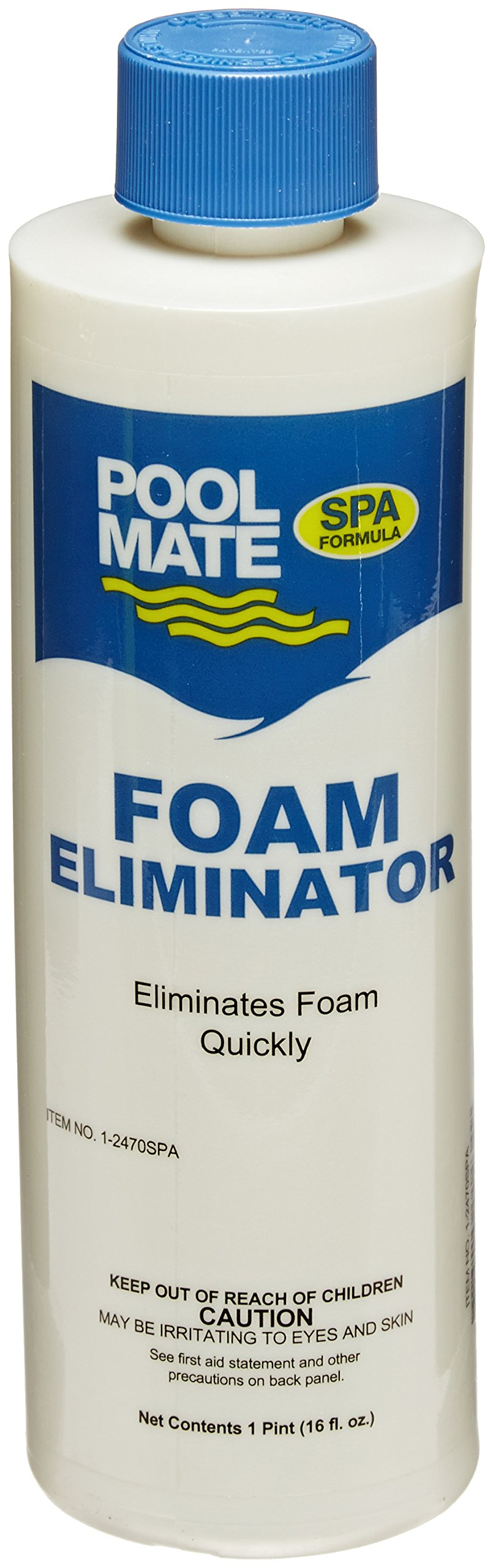 Pool Mate 1-2470SPA-02 Foam Away for Spas and Hot Tubs (2 Pack), 1 pint