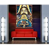 THE BIG LEBOWSKI THE DUDE GIANT PICTURE ART PRINT POSTER MR472