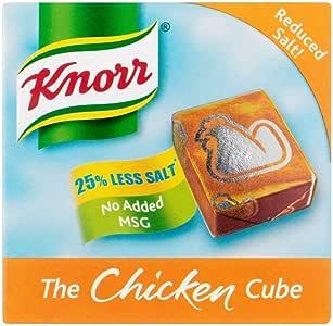 Knorr Cubos De Caldo De Pollo Bajo En Sal (6X9g): Amazon