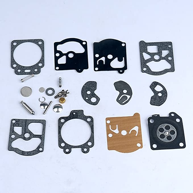 uxcell Carburetor Rebuild Overhaul Kit Gasket Diaphragm for Walbro WA WT Series Carby Replace K10-WAT