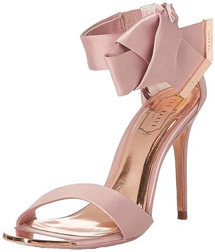 500113fb6f3 Ted Baker Women s ELIRA Pump Pink Satin 5 Medium US
