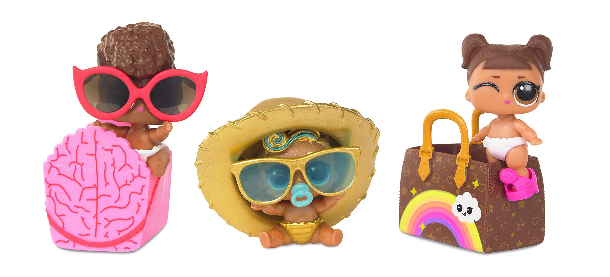 L.O.L. Surprise! Eye Spy Lil Sisters Doll Series 4-1(3 Pack)