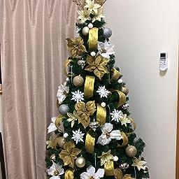 Amazon ビューティーライフ Beauty Life クリスマス ツリー 240グリーン ヌード 装飾なし オーナメント無 240センチ メタルスタンド ツリースカート 説明書付き Christmas Tree Green 240cm Xmas X Mas 240cm クリスマスツリー おもちゃ
