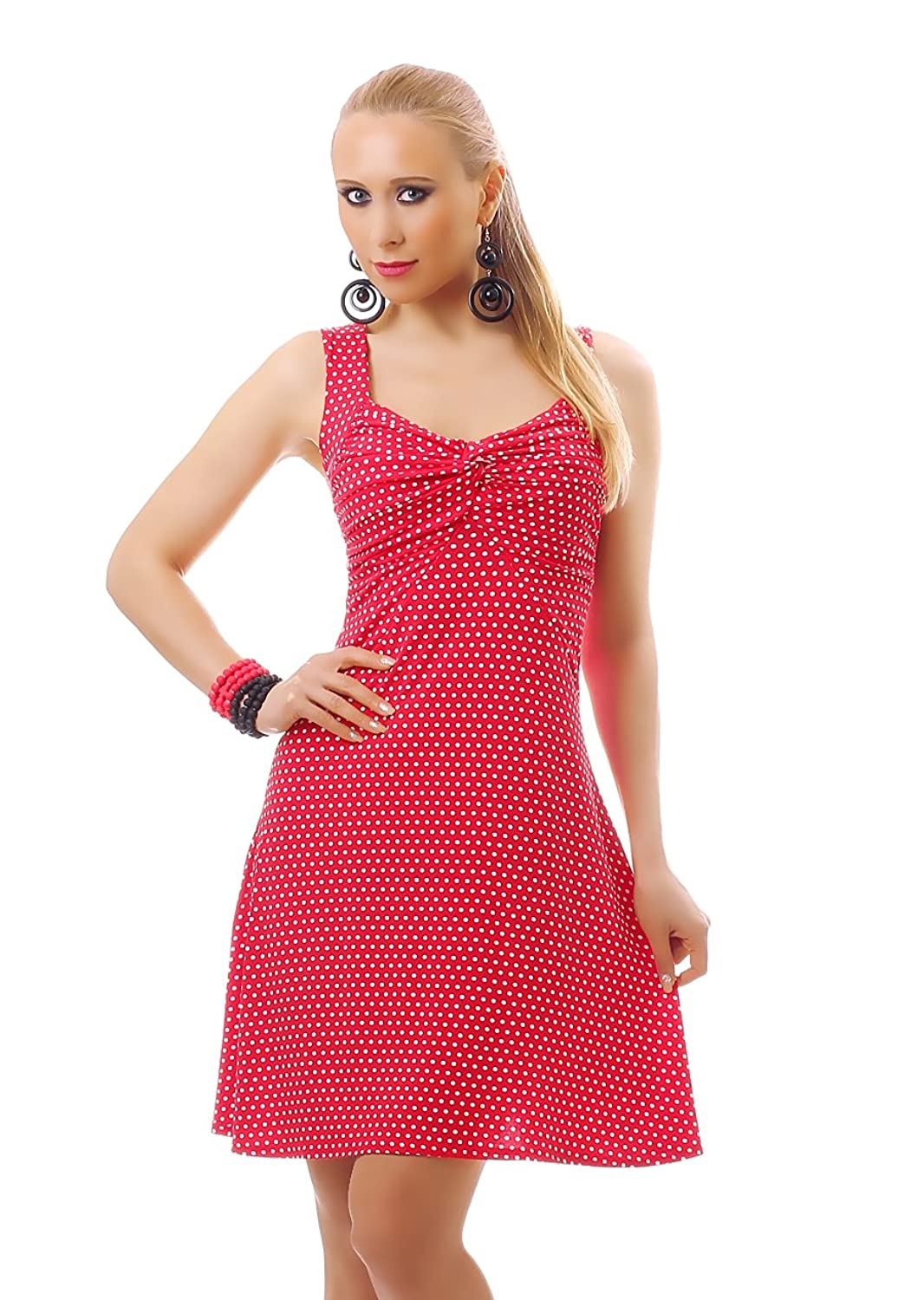 Damen Rockabilly 50er 60er 70er Retro Vintage Rockabilly Kleid ...