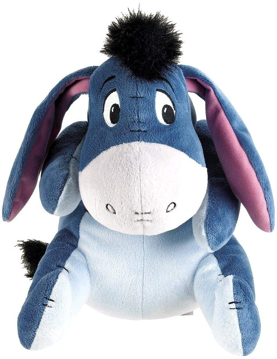 Winnie The Pooh Classic Edition Eeyore Posable 10  Plush With Sound
