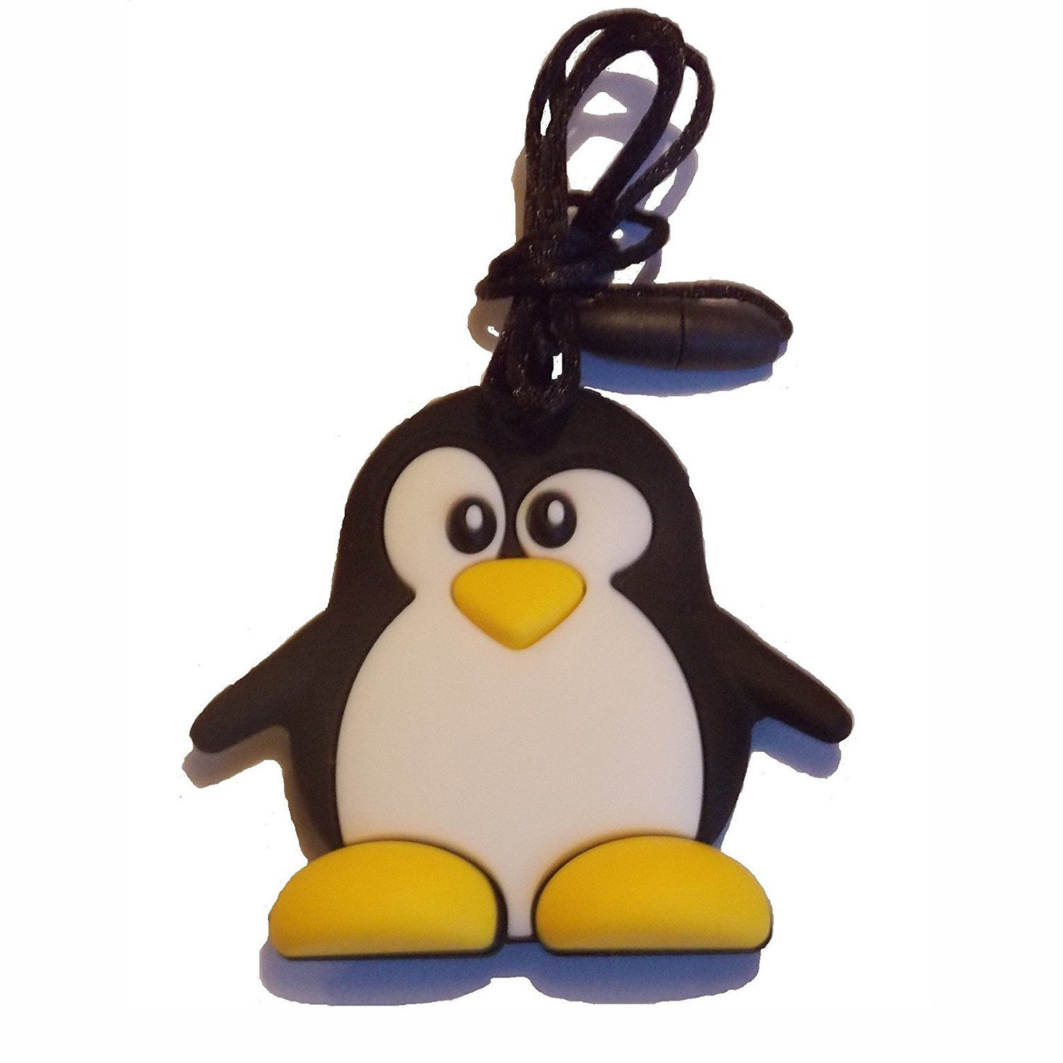 FDA Compliant Soft Nursing Necklace For Baby And Toddler BPA /& Phthalates Free Inchant Chewable Penguin Silicone Teething Pendant Toy Gum Massager Teether Necklace