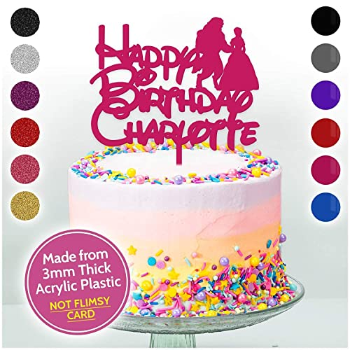 Personalised Birthday Cake Topper Decoration Girls Her