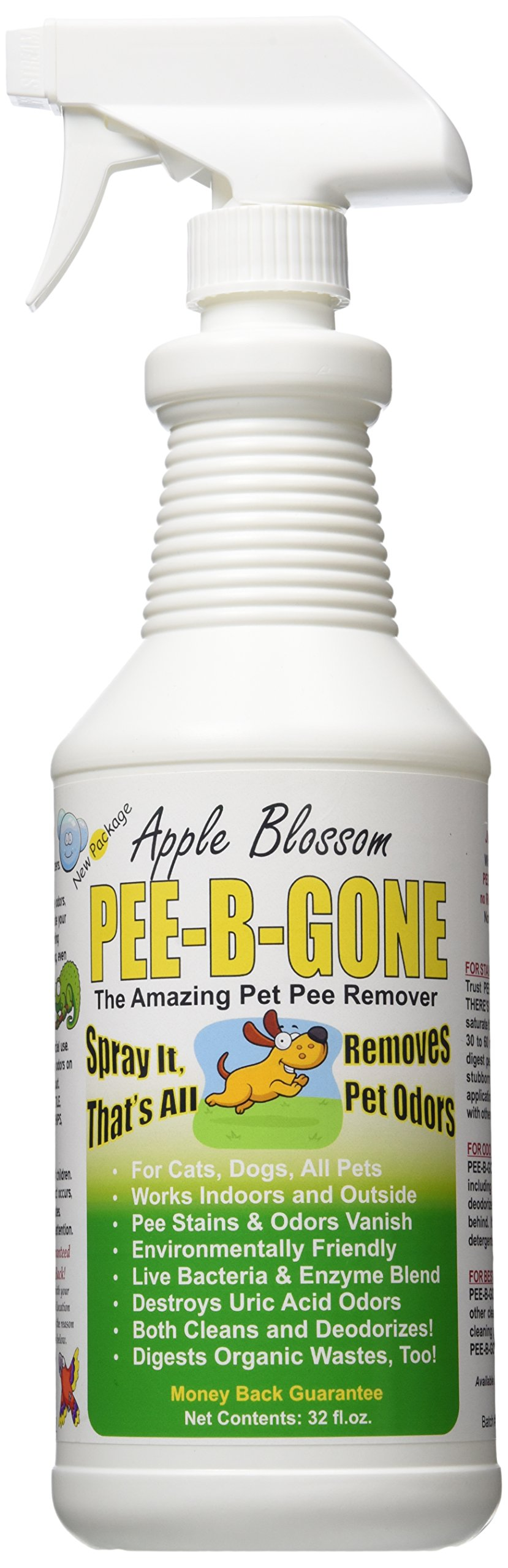 Pet Pee Be Gone Apple Blossom Spray, 32 oz.