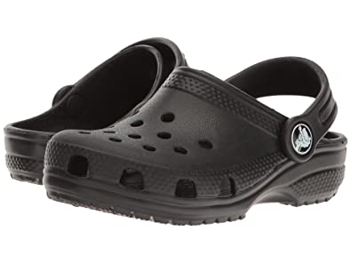 66cc2a9e35 Amazon.com | Crocs Kids' Classic K Clog, Black, 12 M US Little Kid ...