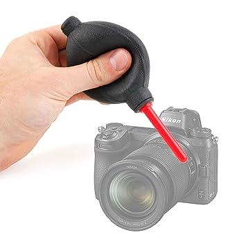 DURAGADGET Soplador Limpiador De Lentes para Cámara Nikon Z6 ...