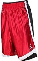 Jordan Mens Court Vision Basketball Shorts Red