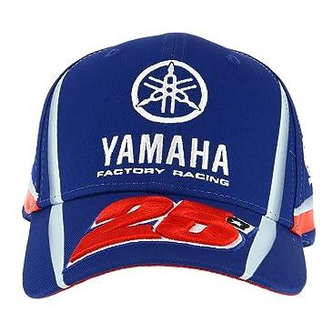 Maverick Vinales 25 Moto GP Yamaha Factory Racing Baseball Gorra Oficial 2018: Amazon.es: Deportes y aire libre