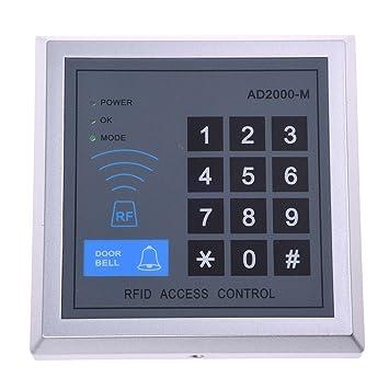 SODIAL(R) RFID Tueroeffner Codeschloss Zutrittskontrolle+Transponde ...