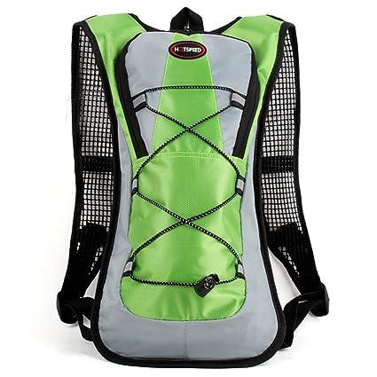 Bolsa de agua bestware 5L Camelback mochila ciclismo Packpack viaje mochila de agua mochila, Verde