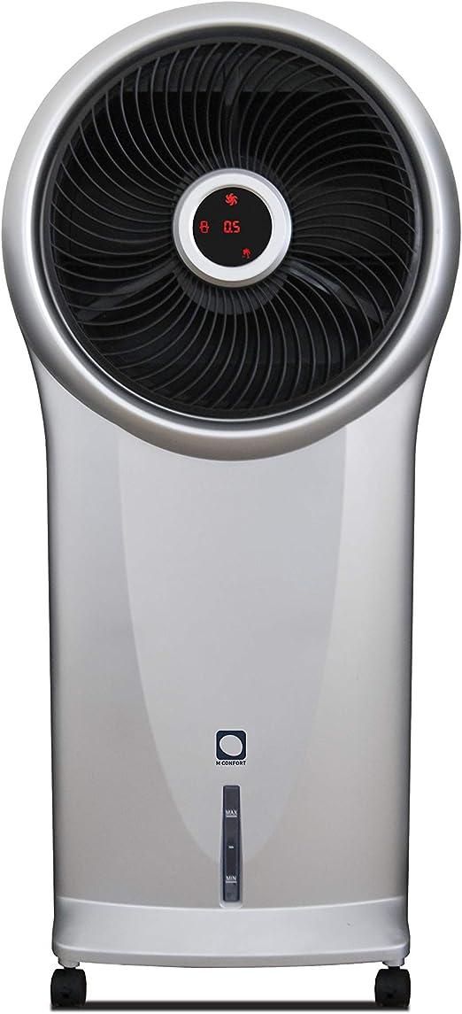 M Confort E800 Climatizador Evaporativo Portátil, 110 Watts, 5.5 L ...
