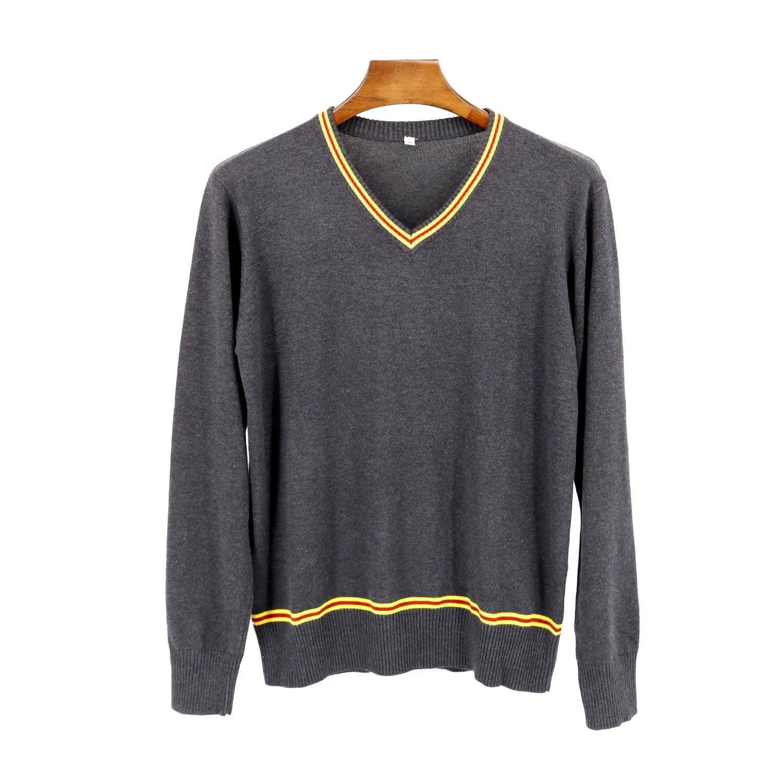 JALYCOS Unisex Sweater Fall and Winter Waistcoat, Cosplay Costumes Vest (Medium, Long Sleeve)