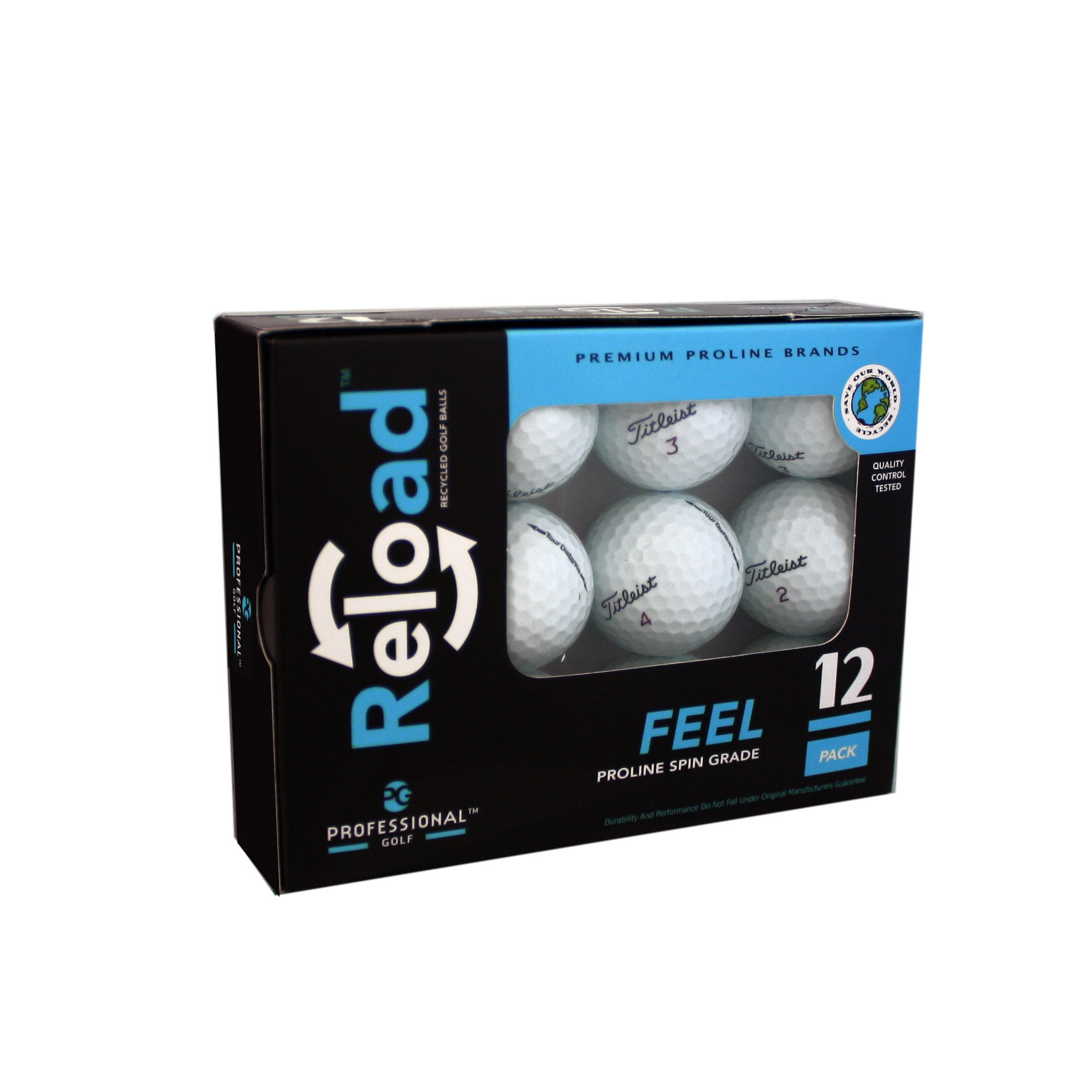 Reload Recycled Golf Balls (12-Pack) of Titleist Golf Balls by Titleist