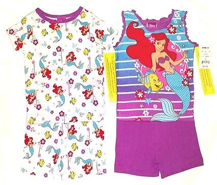 New Clothing, Shoes & Accessories Walt Disney Princess Ariel Sleepwear Pajamas Girls Toddler Size 4t Girls' Clothing (newborn-5t)