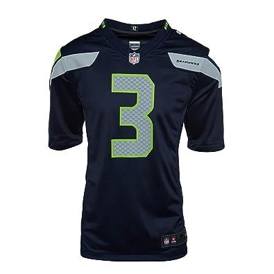 huge discount 813e4 c9a0c Nike Men's NFL Russell Wilson Game Team Jersey