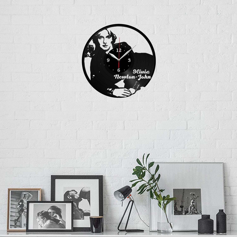 Details about  /LED Vinyl Clock Olivia Newton-John LED Wall Art Decor Clock Original Gift 4758