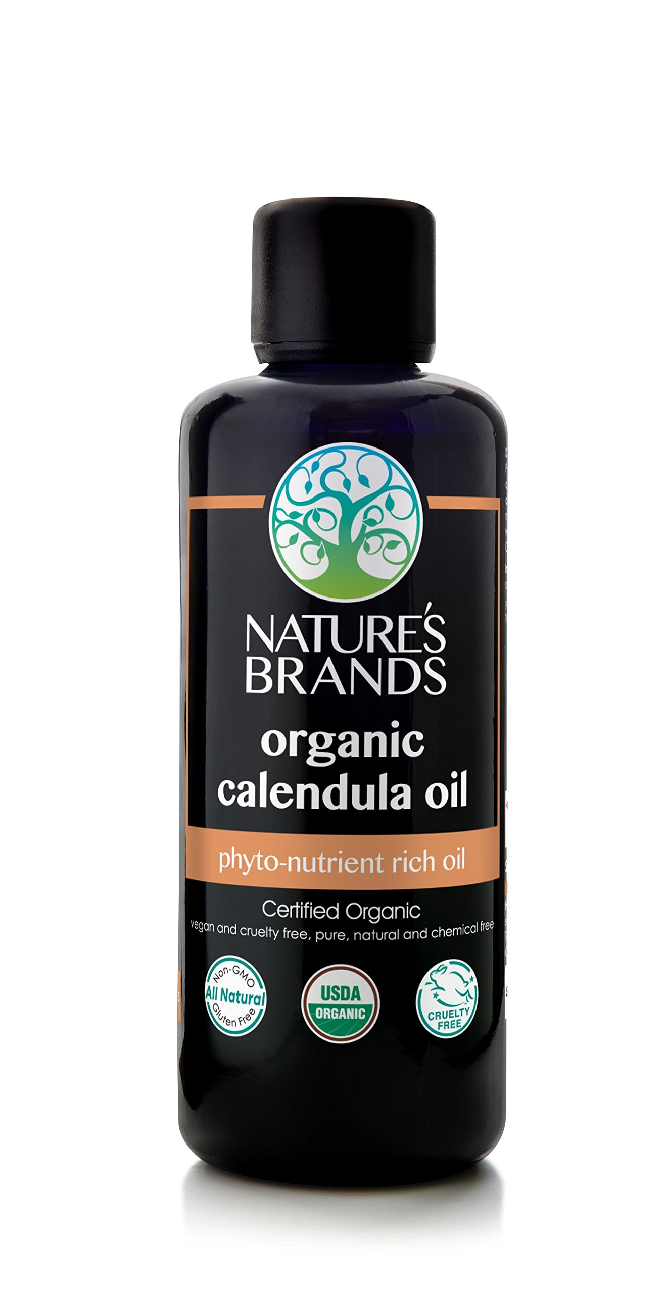 Herbal Choice Mari Organic Calendula Oil; 3.4floz