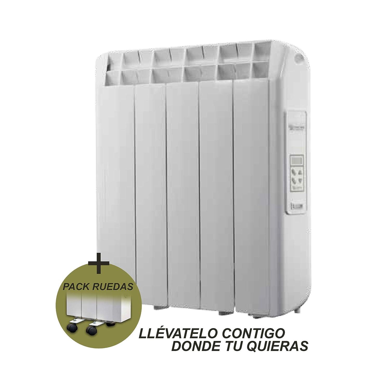 farho Radiador Eléctrico + Juego de Ruedas Xana Plus (XP) • 550 W • Emisor Termico con!!! 20 AÑOS DE GARANTÍA!!!: Amazon.es: Hogar