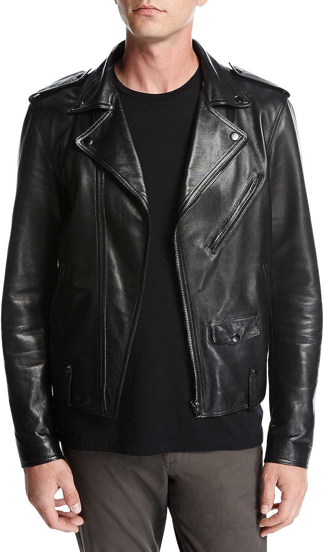 LeatherExotica Designer Style Rider Biker Motorcycle Men Leather Jacket ML-21