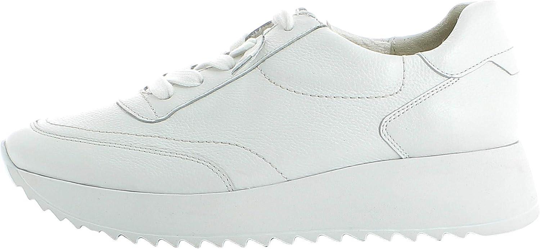 Paul Green Damen Sneaker 4946, Frauen Low-Top Sneaker Weiß White