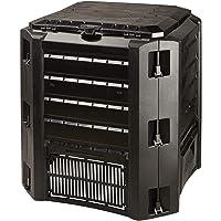 Prosperplast Compostador 220 L Compogreen de plástico en Color Negro, 75,3 (Alto) (Ancho) x 61 (Profundo) cms