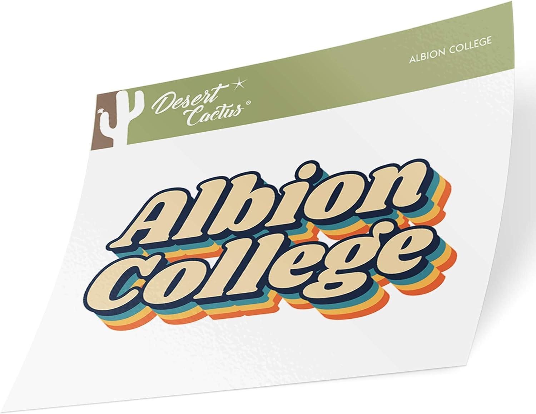 Albion College Britons NCAA Vinyl Decal Laptop Water Bottle Car Scrapbook Sticker - 00007