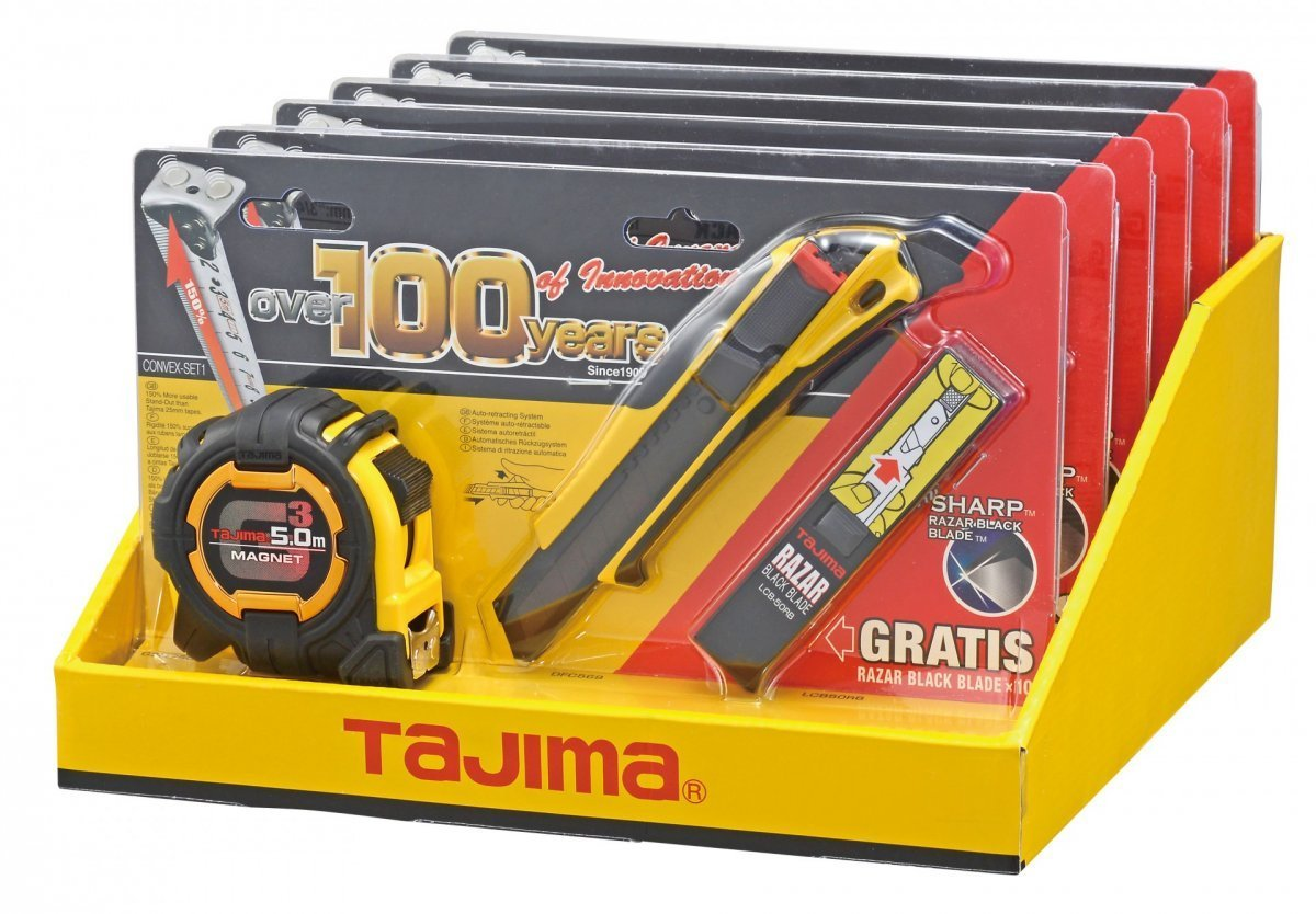Tajima 4780150 Kit Tajima/cutter/lames/mesure 5 m TAJ-76168