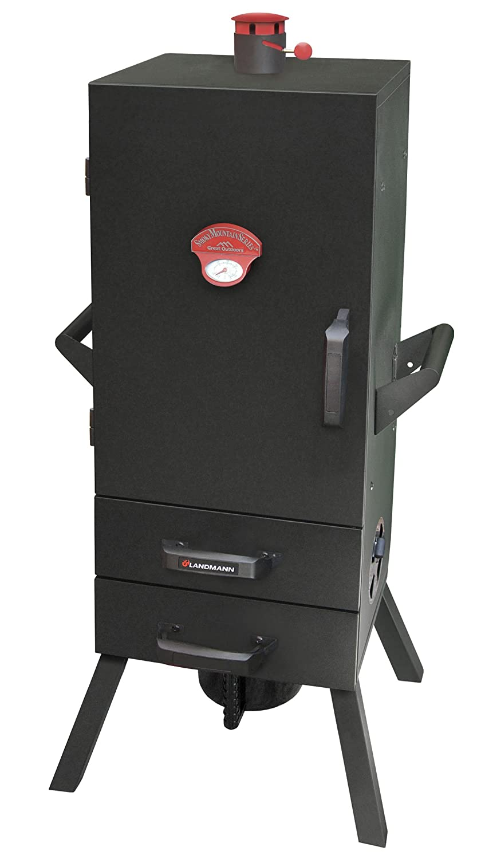 Landmann USA 3495CLA Smoky Mountain 34-Inch Vertical Charcoal Smoker