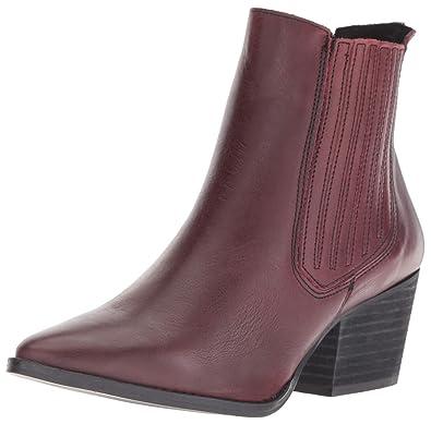 e0e7d35312e Musse & Cloud Women's Becky Ankle Boot Burgundy 42 Medium EU (11-11.5 US)