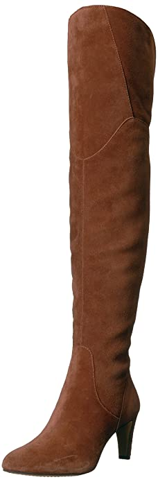 4bfbd4003d8 Vince Camuto Women s ARMACELI Over The Over The Knee Boot Chocolate Truffle  5 Medium US