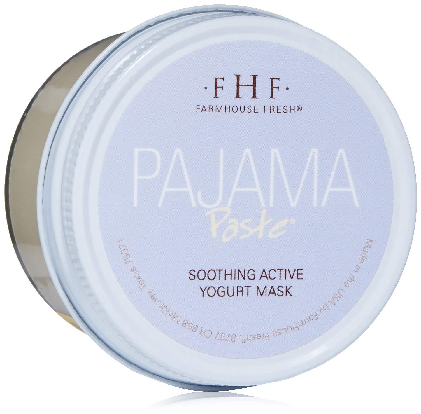 FarmHouse Fresh Pajama Paste Soothing Active Yogurt Mask, 3.2 Fl Oz