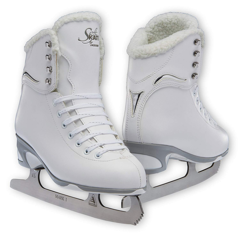 Jackson JS 180 SoftSkate Adult Figure Ice Skates (Fleece, 7) by Jackson Ultima
