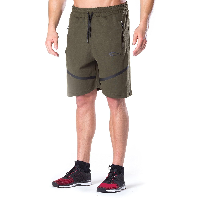 SMILODOX Herren Shorts 'Tech Pro' | Kurze Hosen für Sport Gym Training & Freizeit | Sporthose - Freizeithose - Trainingshose - Sweatpants Jogger - Jogginghose Kurz